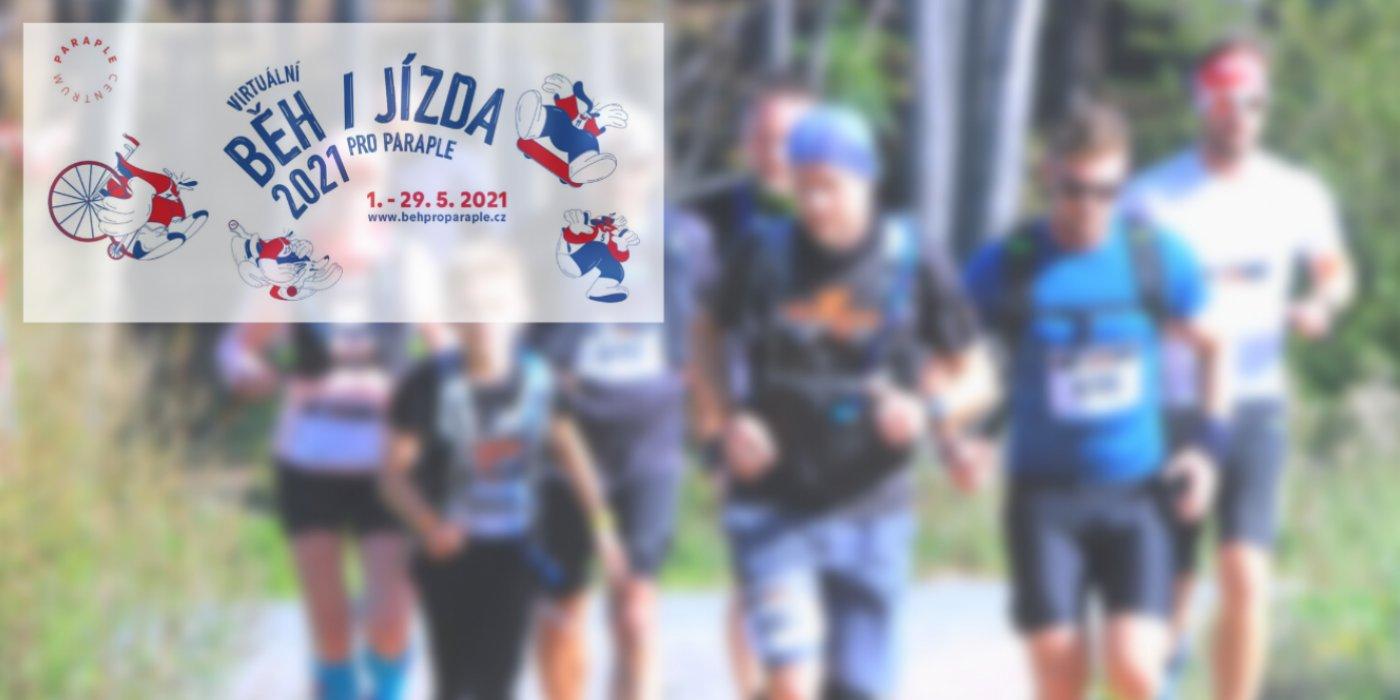 Běh a jízda pro Paraple startuje!